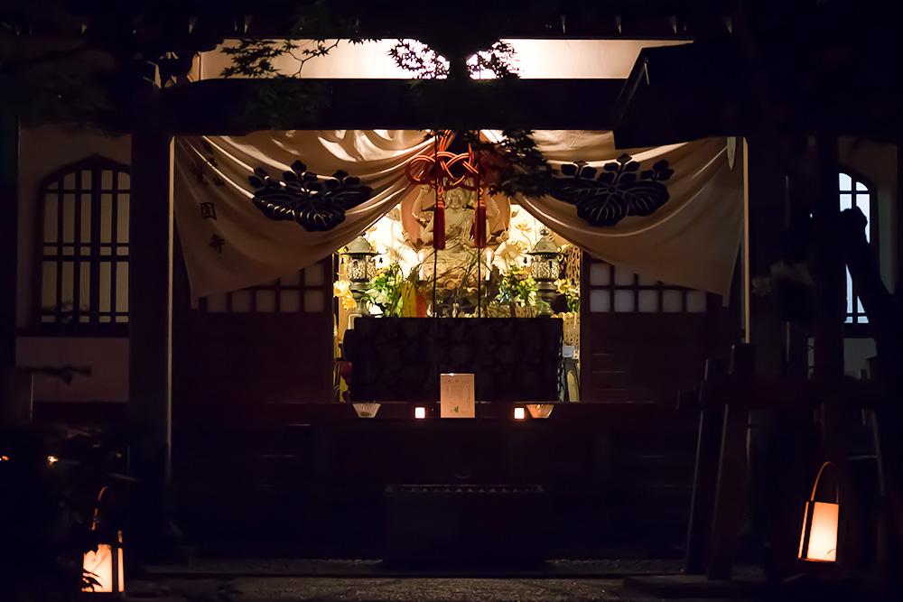 鎌倉 覚園寺の黒地蔵縁日